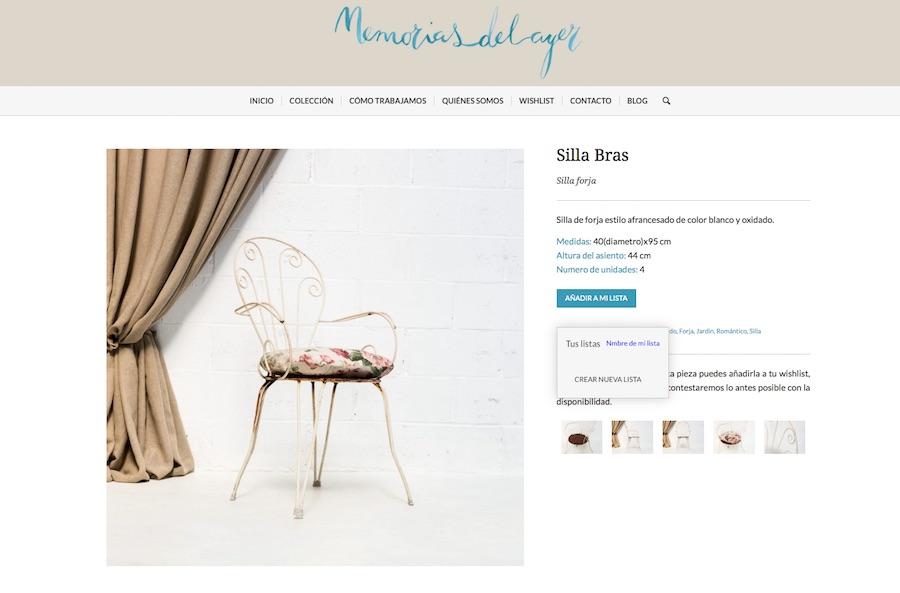 Muebles Vintage y Mobiliario Romántico