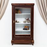 Muebles vintage, armario alacena de madera oscura estilo rústico