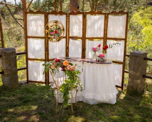 Decoraci n rincones memorias del ayer alquiler for Alquiler decoracion bodas