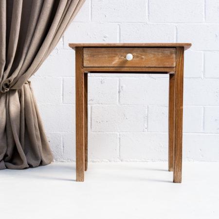 mesa-madera-tocinera-vintage-rustica-pequena-con-cajon