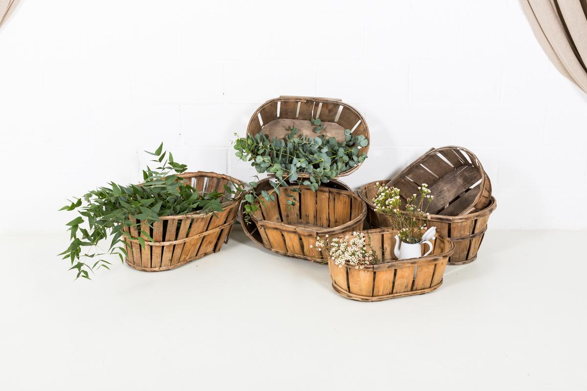 Antiguas cestas de fruta provenzales 01