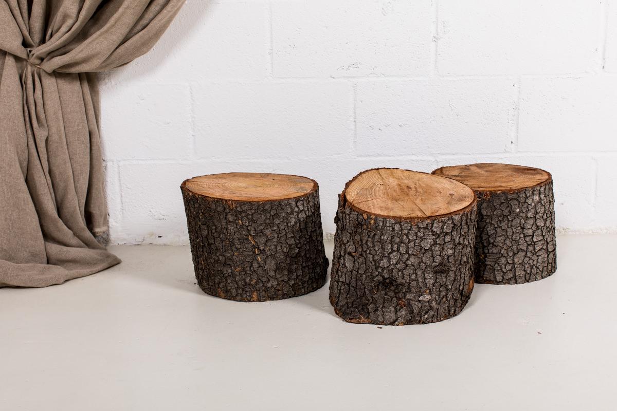 Troncos madera decorativos 02